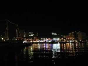贅沢な夜景