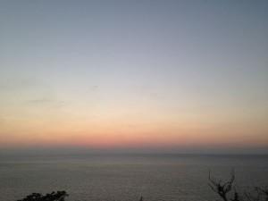 伊王島だから見える夕日「夕陽ケ丘」2
