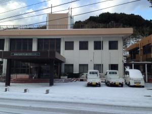 珍しく雪景色2