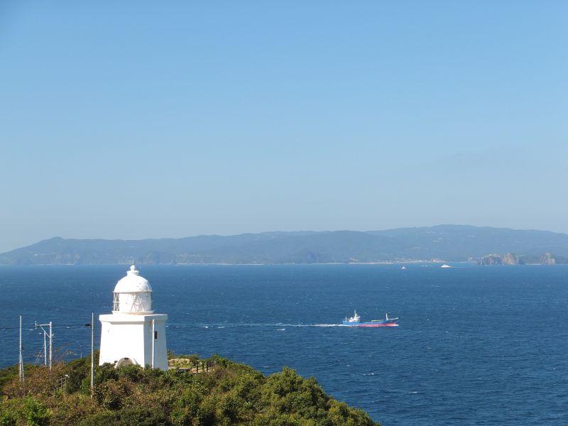 素晴らしい展望の伊王島灯台