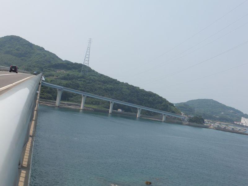 長崎市香焼町と伊王島を結ぶ「伊王島大橋」